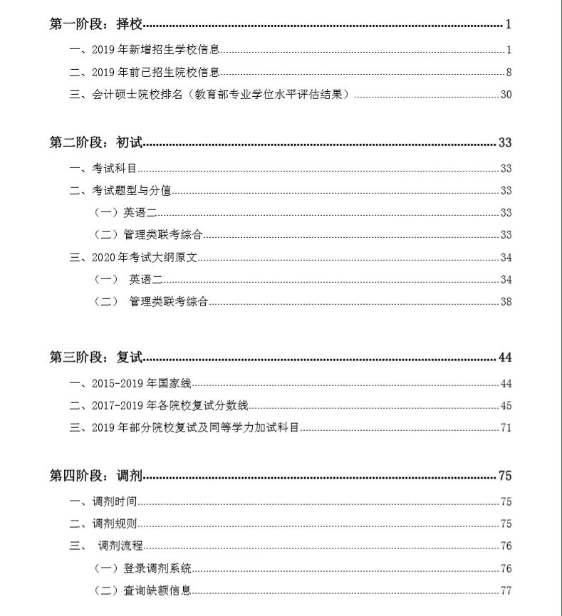 【重磅】研线网2019年会计硕士蓝皮书正式发布!